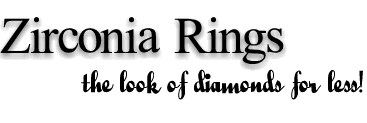 Cubic Zirconia Rings, CZ Engagement Rings, Zirconia Wedding Rings
